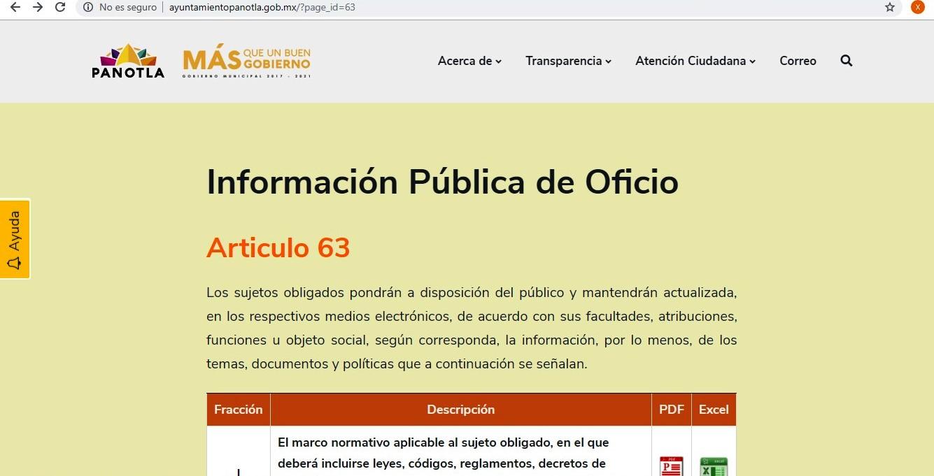 Alcalde de Panotla esconde información y recurre a la opacidad