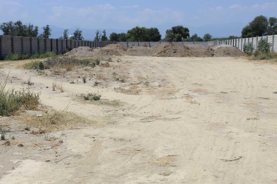 Realiza Tepetitla el relleno del predio donde se ubica panteón de San Mateo Ayecac