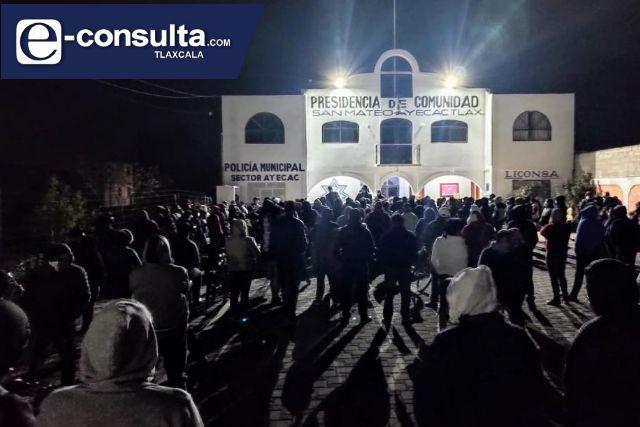 Vuelven tema político el asunto del panteón nuevo en Tepetitla