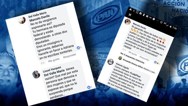 Adriana Dávila Fernández se derrumba en el Partido Acción Nacional