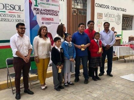 Ayuntamiento de Papalotla y la IAIP realizan concurso de dibujo
