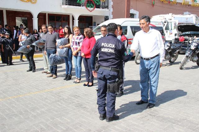 Es prioridad la estabilidad social en Papalotla: Jesús Herrera