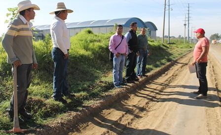 Verifican autoridades drenaje en Papalotla