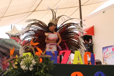 Gran algarabía en Carnavalito 2016 de Papalotla
