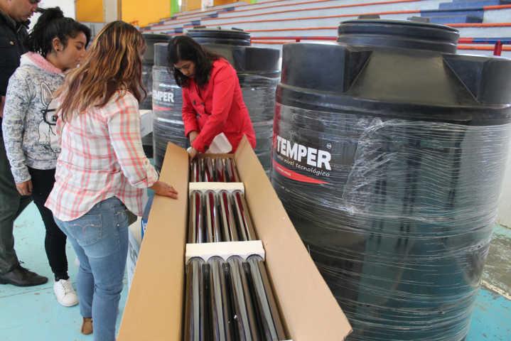 Ayuntamiento de Calpulalpan ha beneficiado a 220 familias con un baño digno
