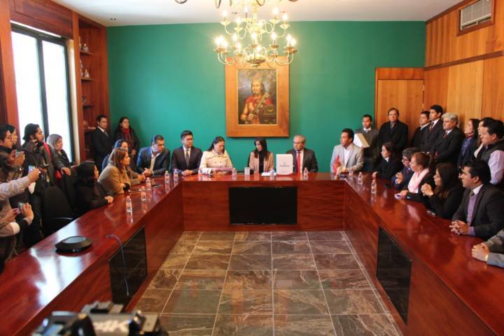 Recibe Congreso de Tlaxcala Paquete Económico para el Ejercicio Fiscal 2019
