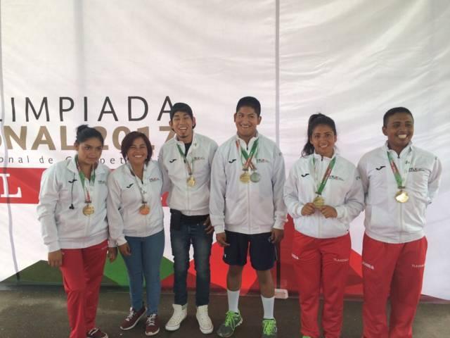 Gana Tlaxcala 21 medallas en la Paralimpiada Nacional 2017