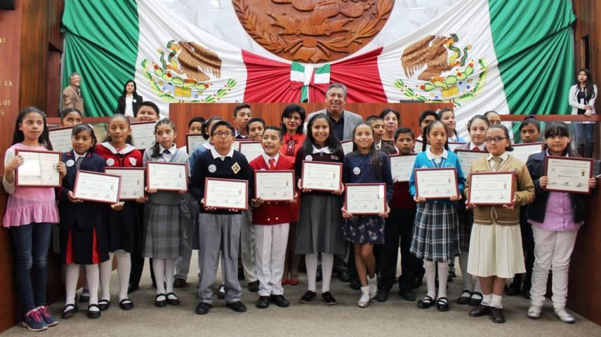 Realizan Décimo Parlamento Infantil Tlaxcala 2018