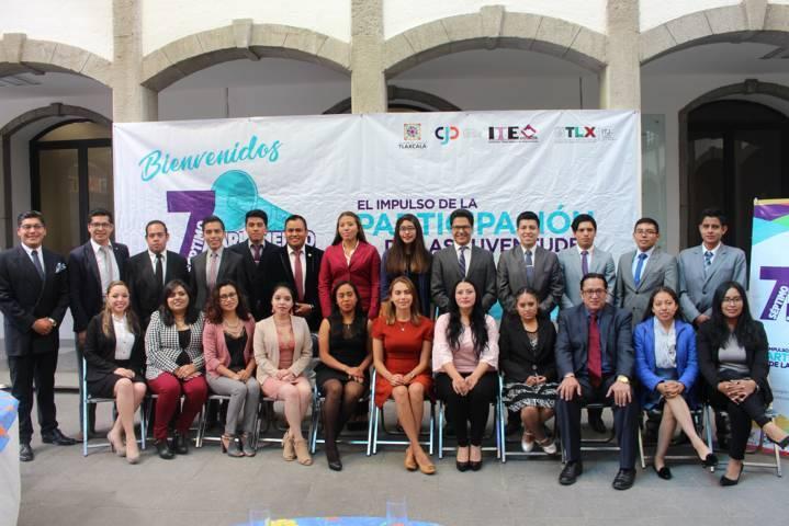 Concluye Séptimo Parlamento Juvenil Tlaxcala 2018