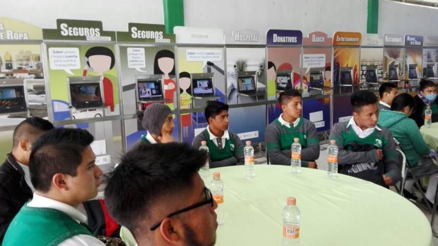 Promueve CECyTE Tlaxcala educación financiera en estudiantes