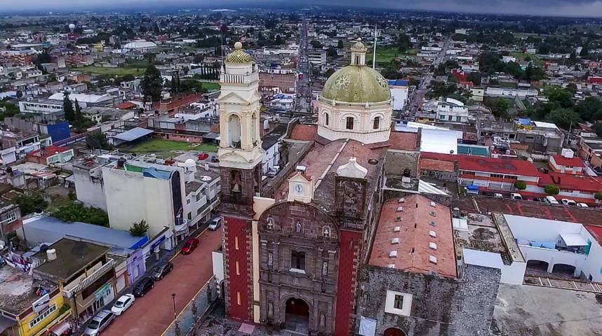 Lucirá en su máximo esplendor la Parroquia de Santa Inés Zacatelco en su Feria 2019