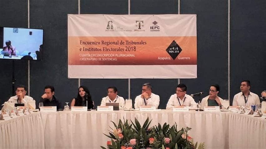 Participa TET en Encuentro Regional de Tribunales e Institutos Electorales