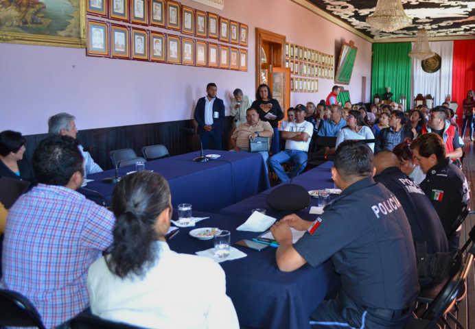 En Calpulalpan ahora cuentan con 5 comités de participación ciudadana