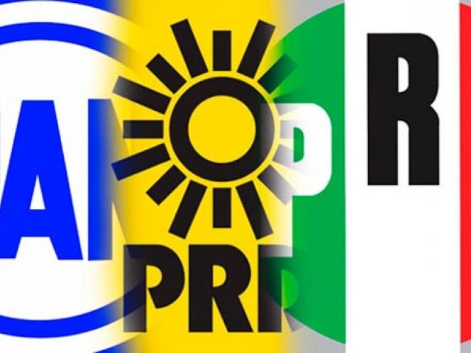 PRI se dice ganador, PRD pide prudencia y el PAN asegura que ganó