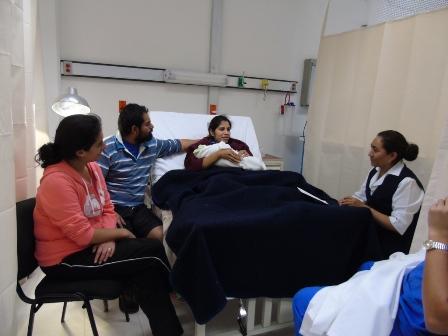 Promueven en Tlaxcala el parto en condiciones naturales