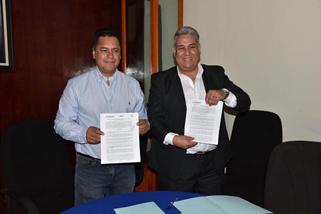 Signan convenio de colaboración Ayuntamiento y el ITC