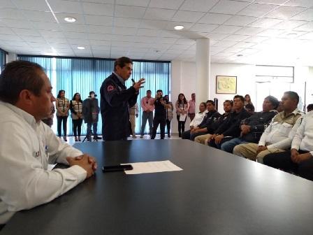 Fortalecen CEPC coordinación con municipio y gobierno federal