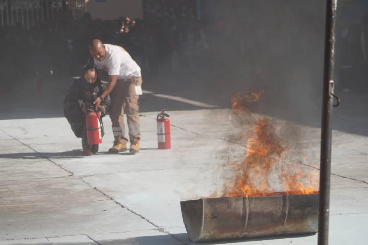 Los alumnos deben de saber qué hacer en caso de un incendio: APR