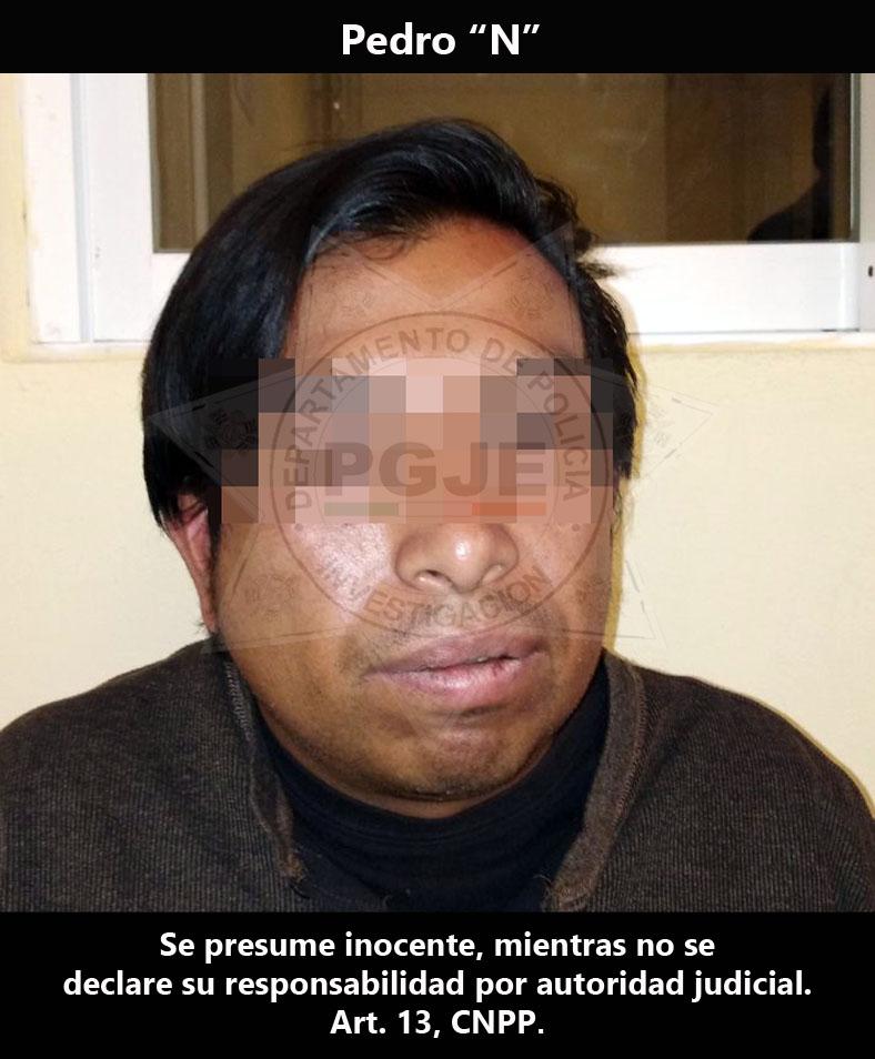 Doce años después esclarece PGJE homicidio cometido en Apetatitlán