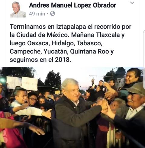 Confirma AMLO encuentro con tlaxcaltecas; va a Huamantla