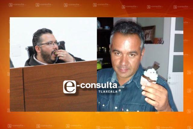 Miguel Piedras y su achichincle acuerdan reprobar las cuentas de Tetla y Apizaco