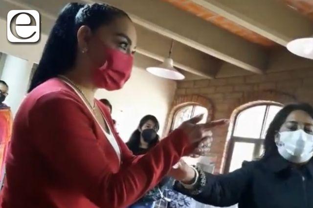 Ex diputadas morenistas aparecen en un video disputándose el control del Cossies