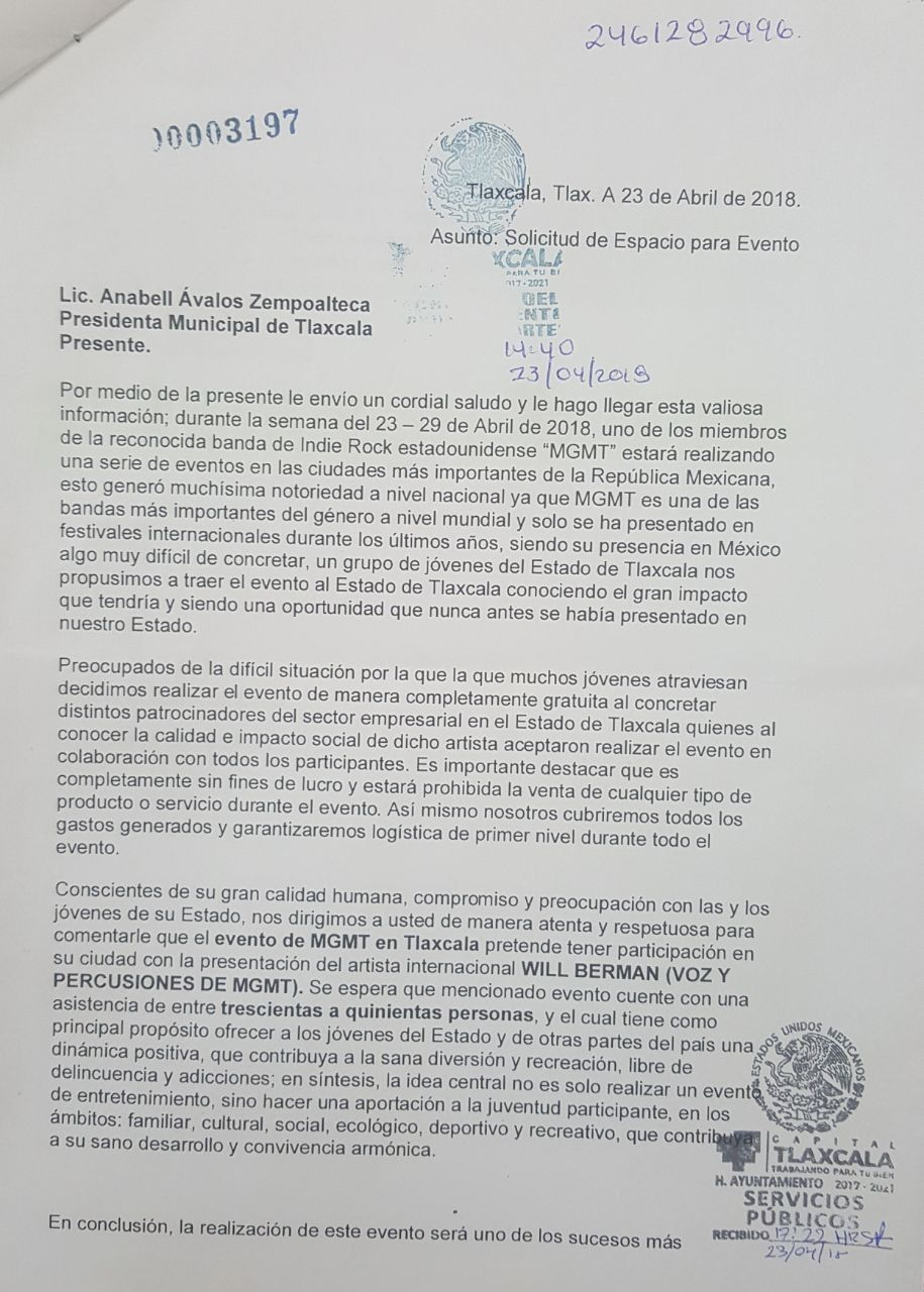 """Ayuntamiento de Tlaxcala no promovió actividades de """"Pronto"""": AAZ"""