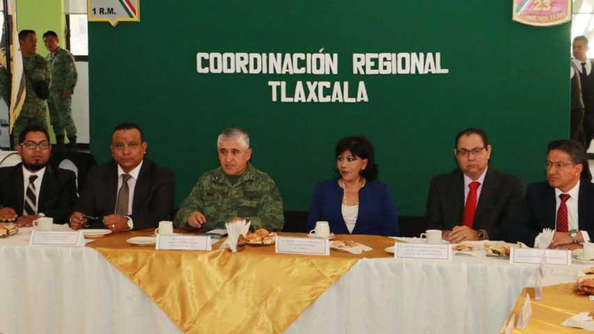 """Participan PGJE, Cesesp y CES en reunión de la """"Coordinación Regional Tlaxcala"""""""