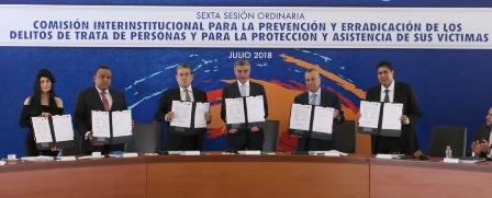 Se coordina Tlaxcala con entidades para hacer frente a la trata