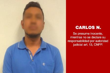 Vinculan a proceso penal a otro presunto tratante de personas