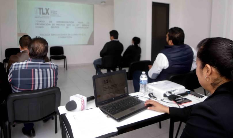 Imparte PGJE curso para prevenir comisión de delitos