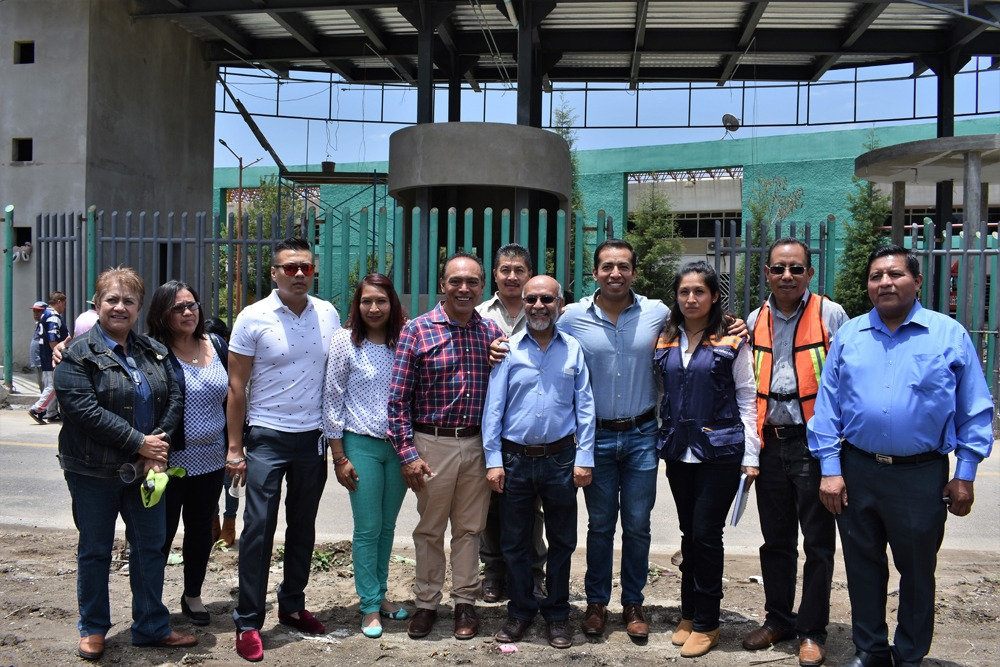 Con el apoyo del PRD mejoramos un acceso entre Tepeyanco y Zacatelco: alcalde