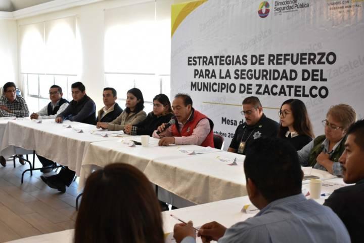 Necesaria colaboración de la policía federal y estatal en Zacatelco: alcalde