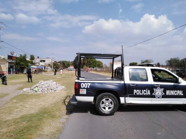 Ejército y policía municipal retoman el control del tianguis ganadero dominical