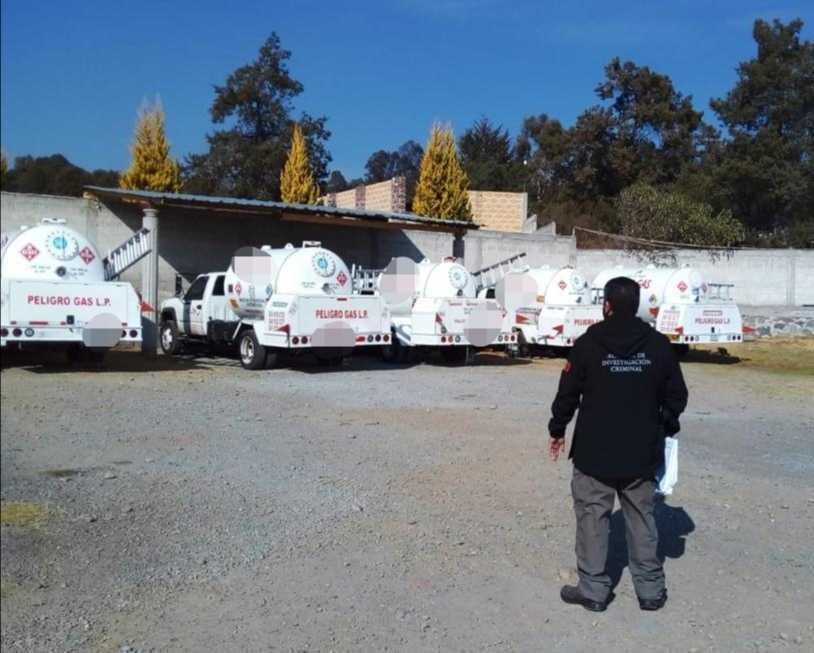 En un cateo PFM asegura ocho pipas en Tlaxcala
