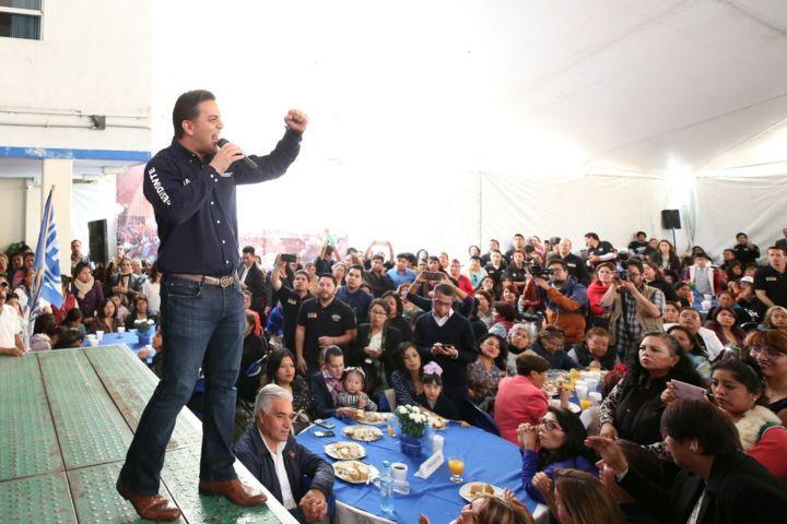 Hoy realizará  Damián Zepeda visita de apoyo de candidatos en Tlaxcala