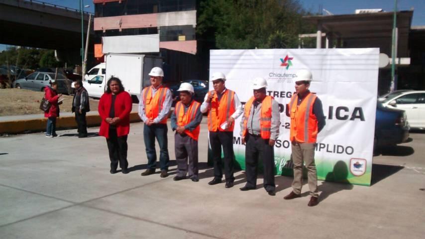 Inaugura Domínguez Rugerio pavimentación de concreto hidráulico en beneficio de 13 mil 200 habitantes