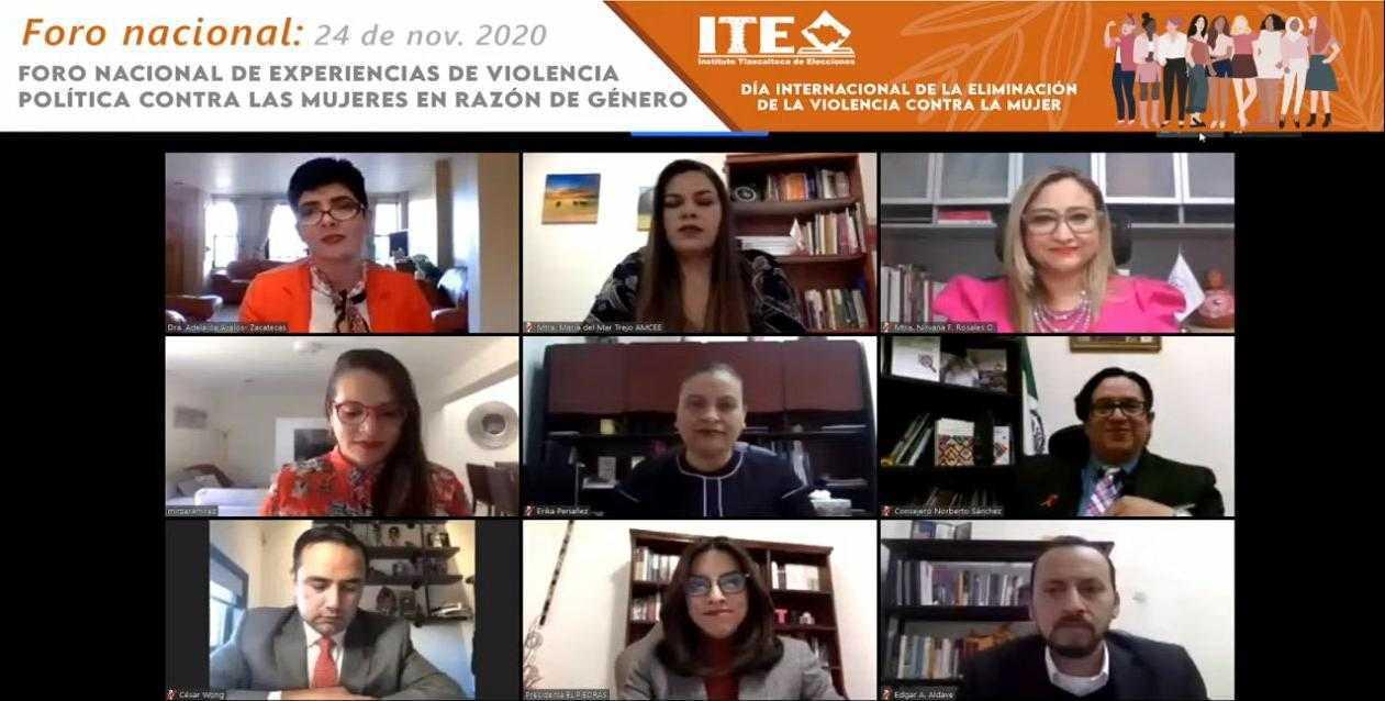 Propicia ITE reflexión institucional en torno a violencia política contra las mujeres en razón de género
