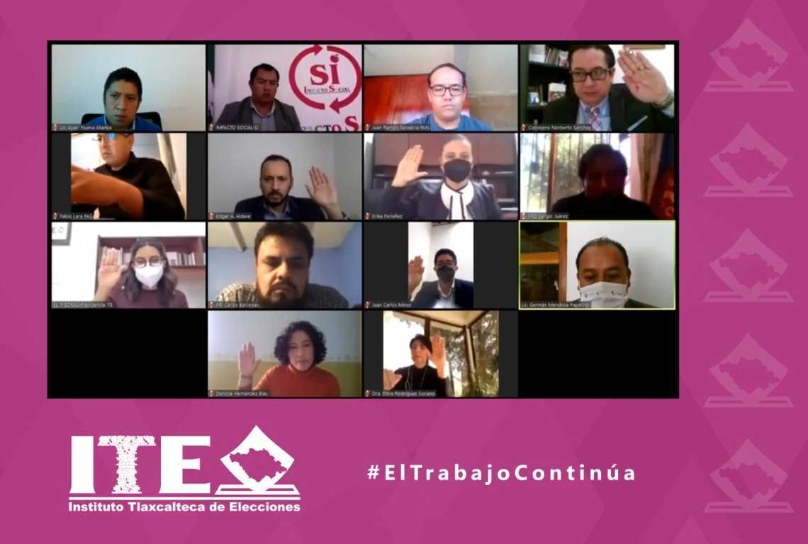 Aprueba ITE acreditación de fuerza social por México y redes sociales progresistas