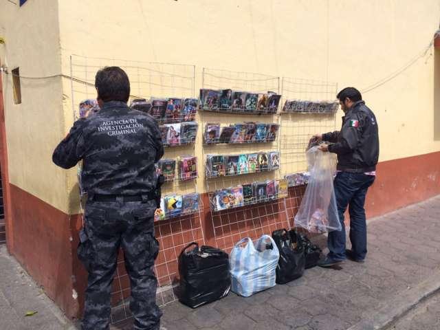 Aseguran más de cuatro mil piezas pirata en Tlaxco