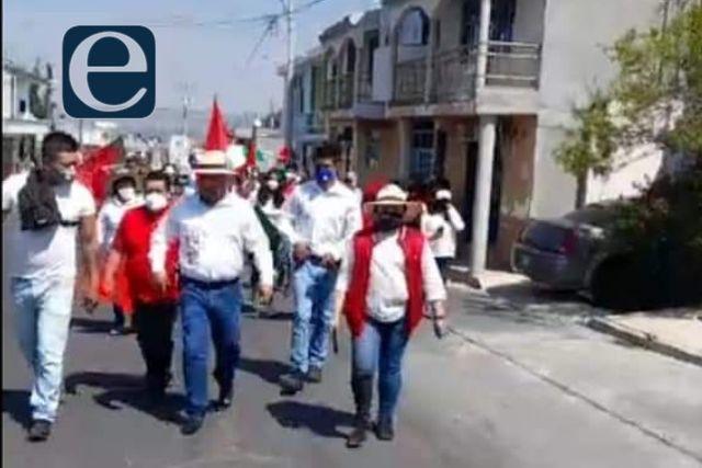 Juan Carlos Cocoletzi se pitorrea del ITE; sale hacer campaña