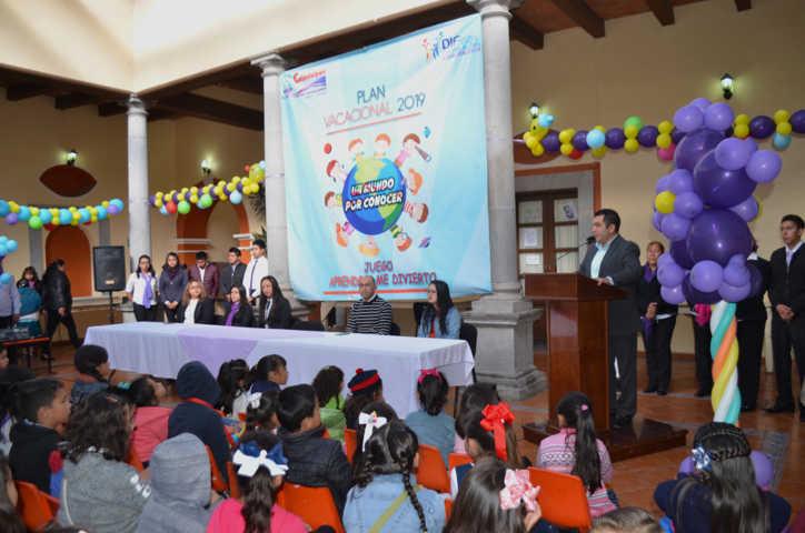 Plan Vacacional los niños descubrirán el mundo que les rodea: RMFA