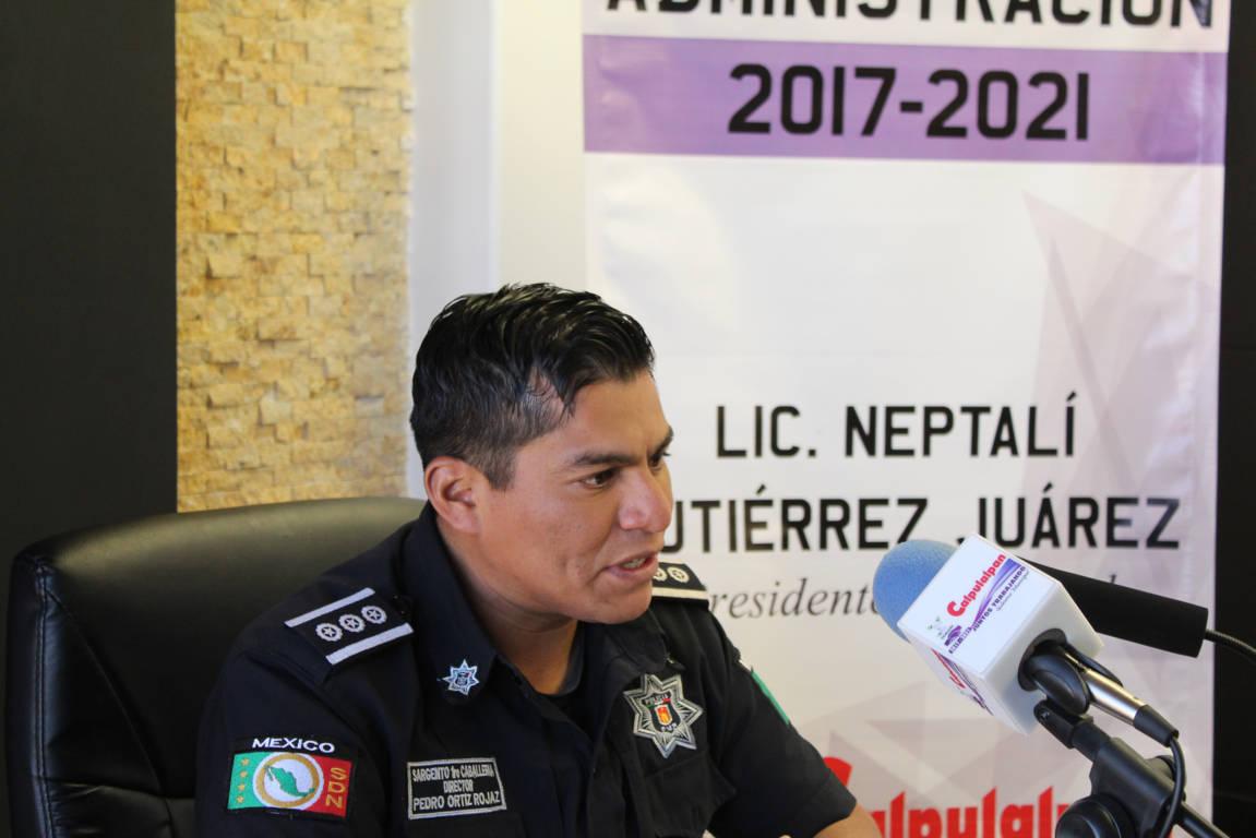 Policías municipales se capacitarán con personal militar