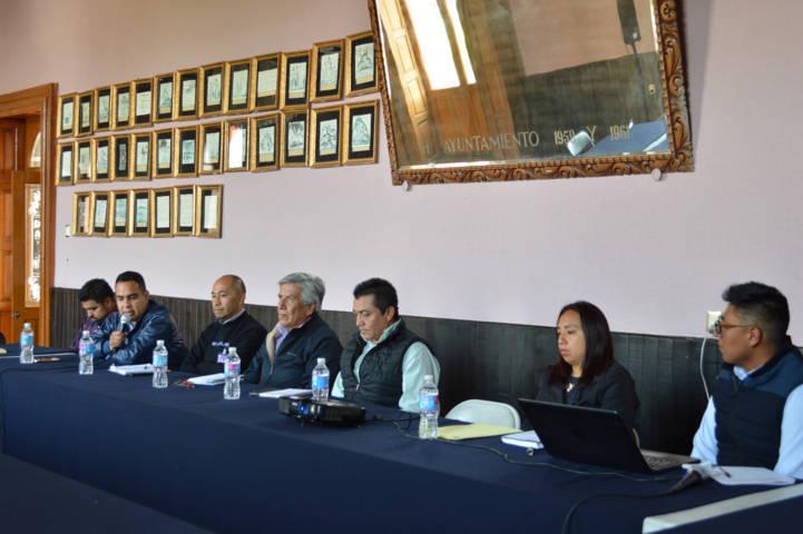Autoridades municipales presentan plan de contingencia para la temporada de lluvias