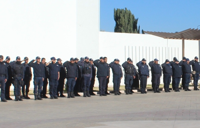 Seguridad Pública de Lardizábal implementa operativo especial por Semana Santa