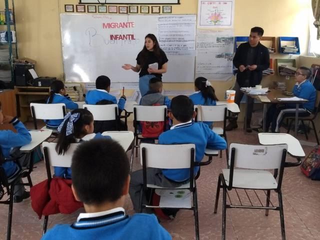 Lleva SMDIF pláticas de prevención a estudiantes en Metepec