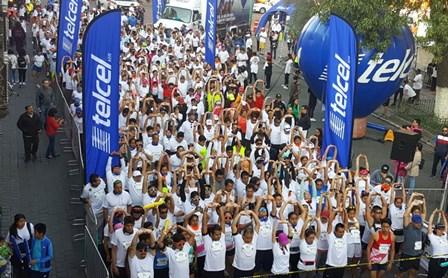 Reúne la V Carrera Playerytees a más de mil 500 corredores en la capital