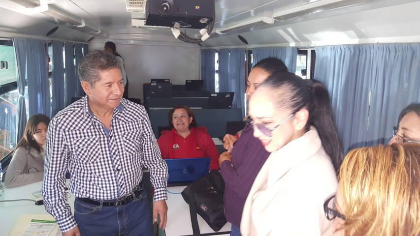 Instalan Plaza comunitaria móvil en el zócalo de la capital