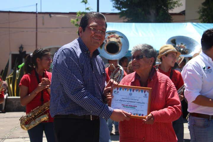 Recuperaremos las Plazuelas de Huamantla: Jorge Sánchez Jasso