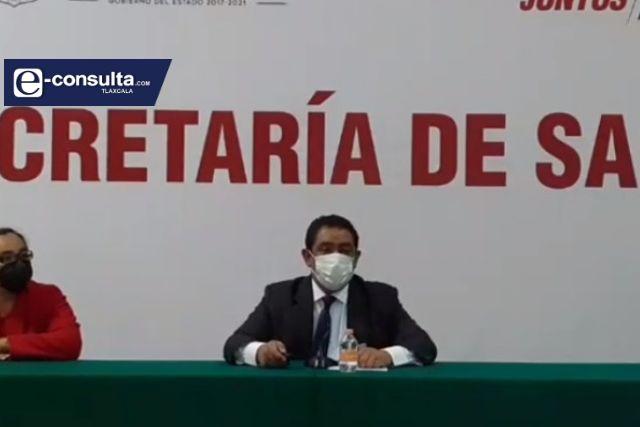 Revela la SESA que el repunte de casos Covid en Tlaxcala ya está en proceso